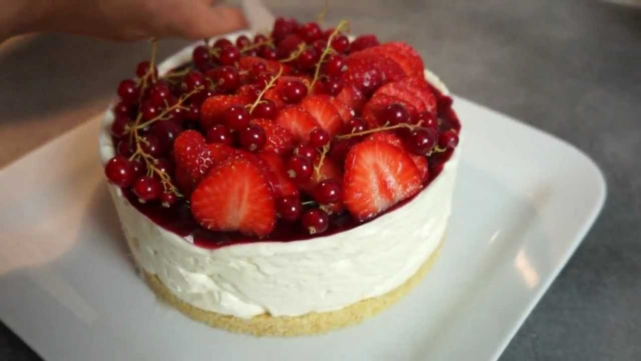 recette cheesecake express sans cuisson aux fruits rouges par brid lice youtube. Black Bedroom Furniture Sets. Home Design Ideas