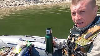 Рыбалка на водохранилище Как начиналась рыбалка на квх в прошлом сезоне Первая щука сезона в лодке