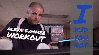 Amazon Alexa Workout - Quick Summer Cardio Session