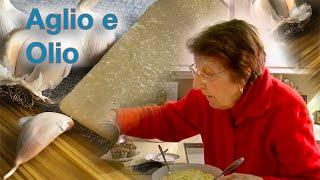 Great Depression Cooking - Aglio e Olio (Garlic Pasta) - The Lost Episode