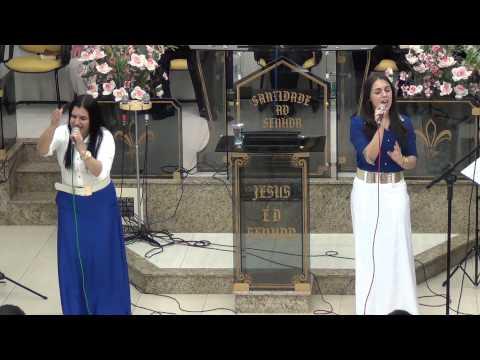 Giselli Cristina Canta Com Sua Filha Rafaelli ( Eu Ti Louvarei )