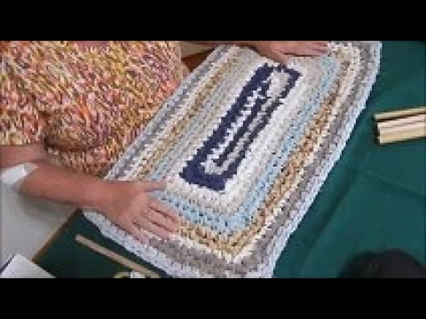 Rectangle Rag Rug With Easy Great