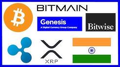 Whale Crypto Dump - New Bitmain CEO - Genesis Trading OTC - Bitwise Physical BTC ETF - India Ripple