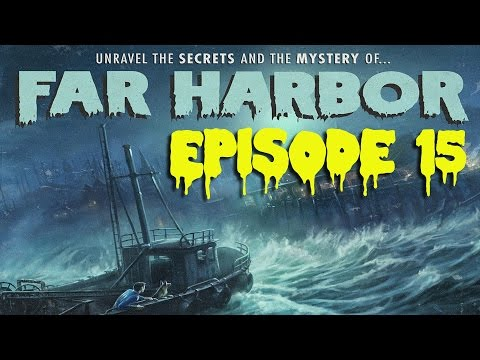 FALLOUT 4 (Far Harbor) #15 : Nick PLEASE run away from the explosive!
