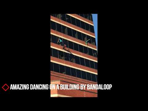Amazing Dancing On A Building by BANDALOOP