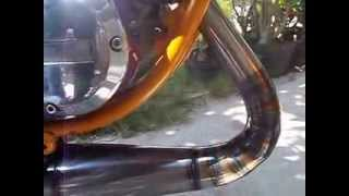 Repeat youtube video knalpot TEJE Rx King / Rxz tipe 3v3 leher cacing poles