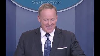 June 12, 2017 Sean Spicer White House Press Briefing -Full Event