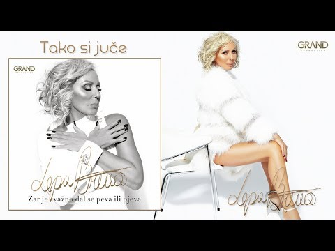 Lepa Brena - Tako si juce - (Official Audio 2018)