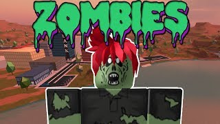 THE ZOMBIES COME TO JAILBREAK IN ROBLOX