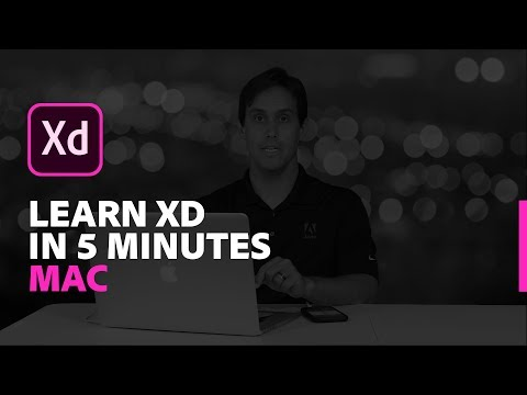 Learn Adobe XD In 5 Minutes (Mac) | Adobe Creative Cloud