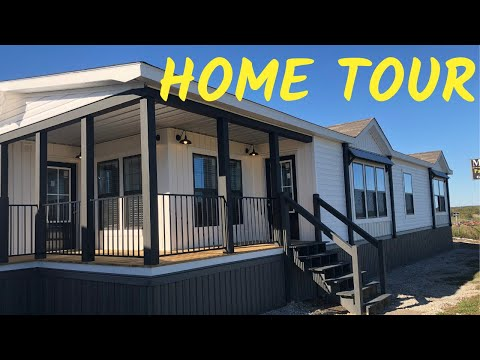 Beautiful Farmhouse Mobile Home! The Lulamae By Buccaneer Homes. Home Tour