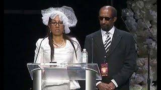 The mother of Nipsey Hussle spoke at his memorial service, telling of the final conversations she had with her son before he was slain. Details and full video of ...