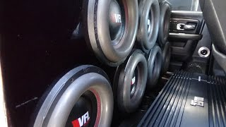 LETS TALK ABOUT SUBWOOFER EXCURSION | 7 AMERICAN BASS VFL 12S |  2 AMERICAN BASS VFL 22K COMP