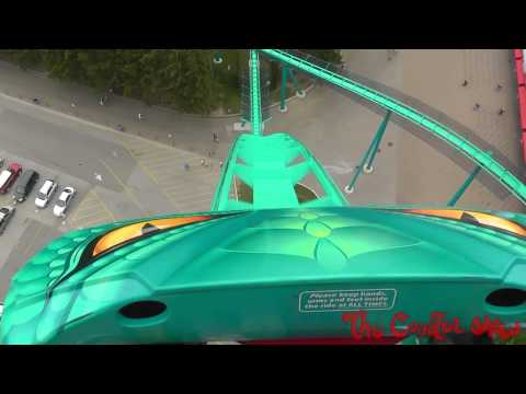 Leviathan Front Seat HD POV roller coaster - Canada's Wonderland