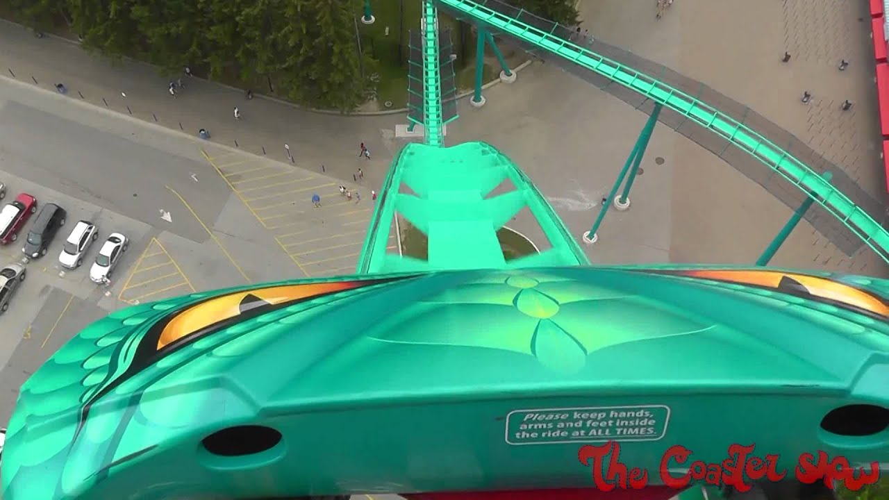 Leviathan Front Seat HD POV roller coaster - Canada's ...
