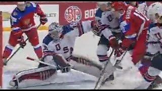 Россия U20 - США U20 (2-1) 04.01.2016 Хоккей Обзор матча