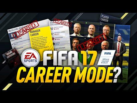 LEAKED FIFA 17 CAREER MODE?