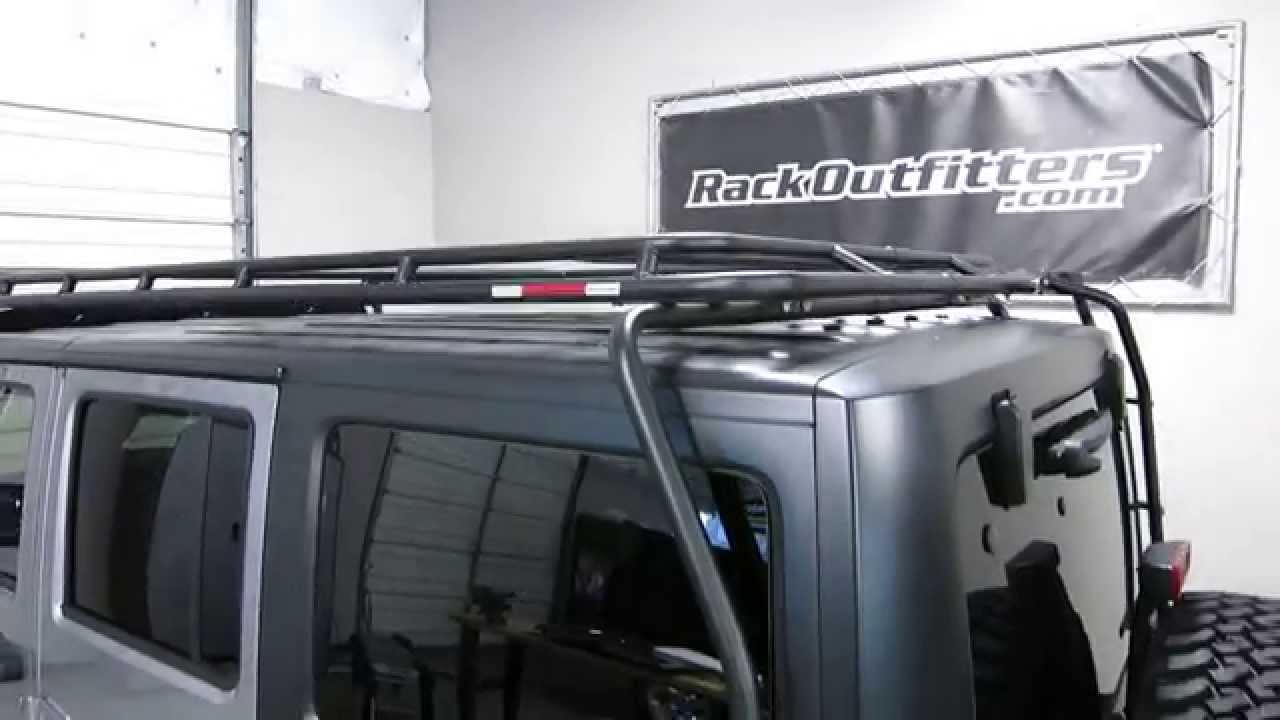 Jeep Wrangler Unlimited 4 Door Jk Gobi Stealth Roof Rack
