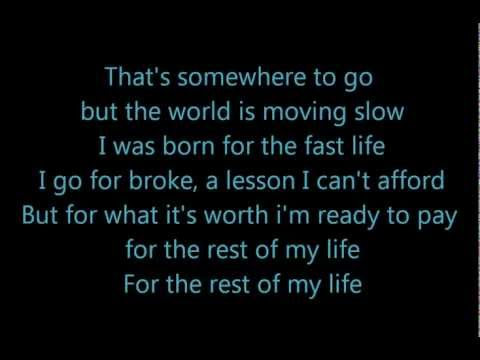 Rest of My Life by Ludacris Feat. Usher and David Guetta (lyrics on screen)