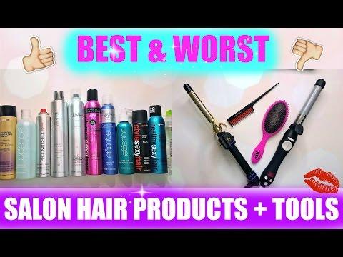 BEST & WORST SALON HAIR PRODUCTS