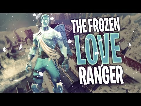 THE FROZEN LOVE RANGER!! W/ DAKOTAZ, HD & CLOAK!! | Fortnite Battle Royale Highlights #219
