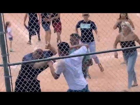 iHeartRadio Shows - Parents BRAWL after a call at a little league game.  C'mon!