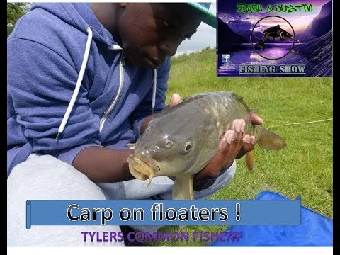 ZACH AND JUSTIN FISHING SHOW- Carp On Dog Biscuits-tylers Common Fishery