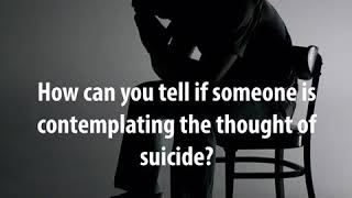 How Can You Help Someone Struggling With Suicidal Thoughts