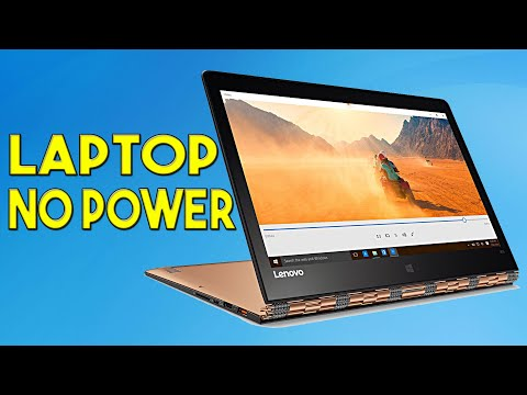 Laptop No Power - Troubleshoot Only - Lenovo Yoga 900-13ISK
