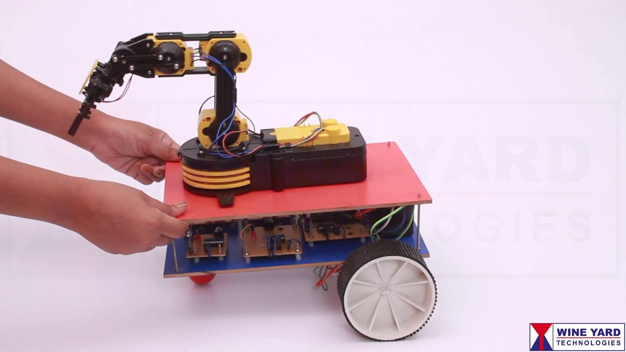 pick and place robot project report pdf
