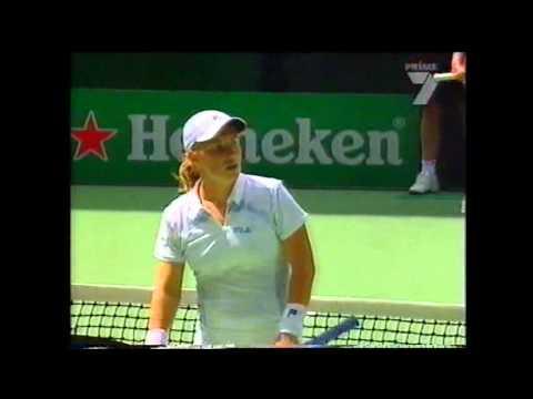 Justine Henin v Svetlana Kuznetsova WTA Australian Open Highlights