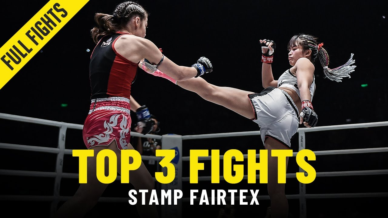 Stamp Fairtex's Top 3 Bouts | ONE: Full Fights