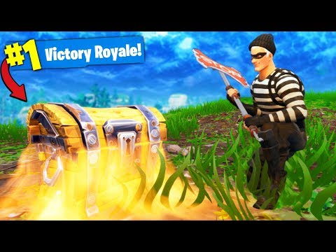The *ONE CHEST* CHALLENGE In Fortnite Battle Royale