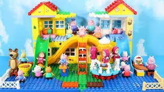 Lego Duplo Peppa Pig House Construction Set - Peppa Pig Lego Creations Toys For Kids