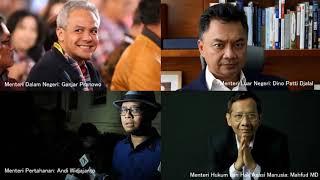 Menteri Pada Kabinet  Jokowi-Ma'ruf Amin 2019 2024