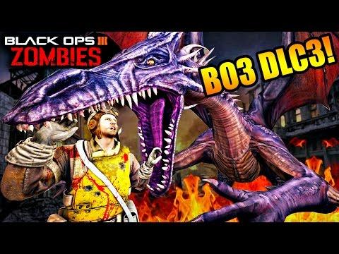 COD BO3 DLC 3 Descent Zombies Map: Stalingrad, Dragons etc..(Theorie)