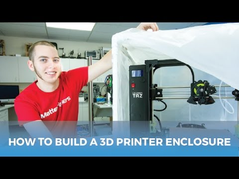 How to Build a Cheap Enclosure For Your 3D Printer / Printing with ABS