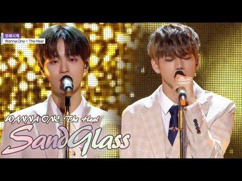 [Comeback Stage] Wanna One The Heal - Sandglass  , 워너원 더힐 - 모래시계  Show Music Core 20180609
