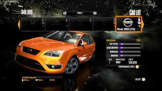 "Need For Speed SHIFT: Career- Part 1 (Tier 1) ""Introduction"""