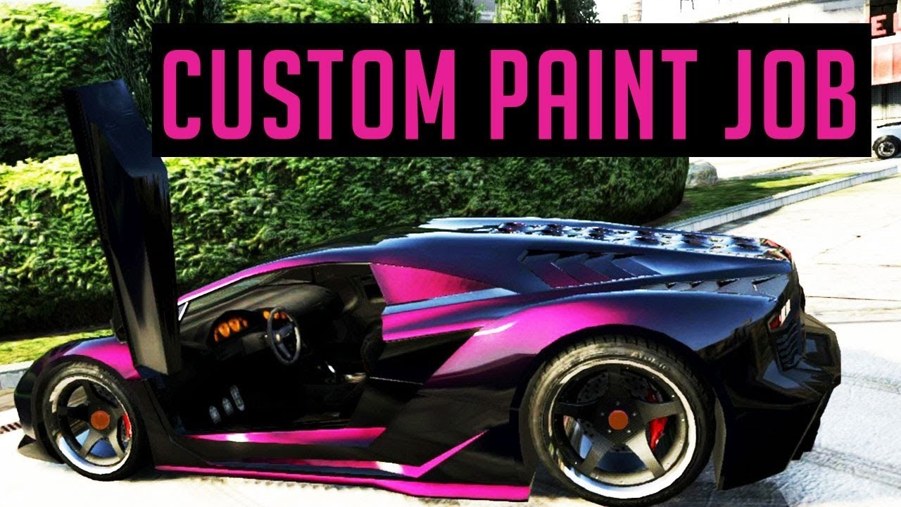 Cool Gta Online Paint Jobs