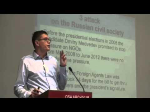 Pavel Chikov, AGORA Human Rights Association @INCLO 2014.05.30