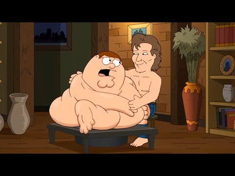 Family Guy !! Peter molded his body