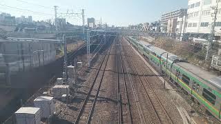 【廃車回送】E217系 東神奈川付近にて2021年2月4日(木)