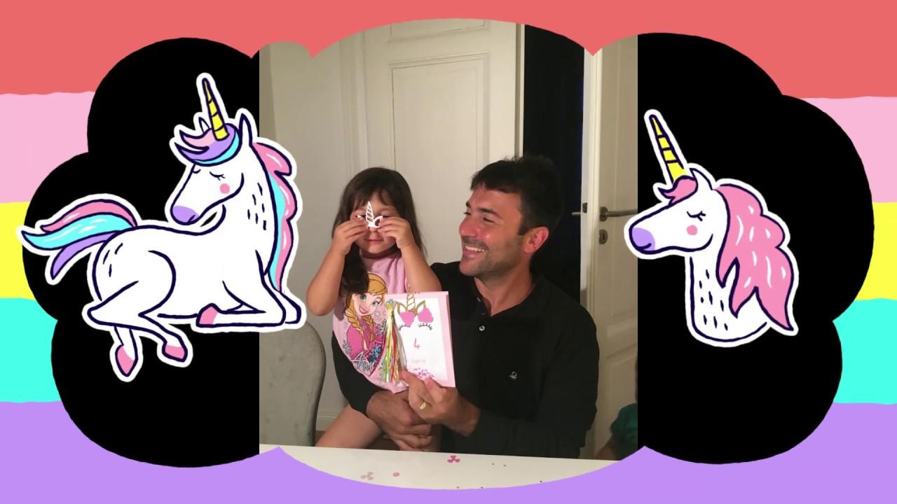 unicorn einhorn einladungskarte ganz einfach und schnell