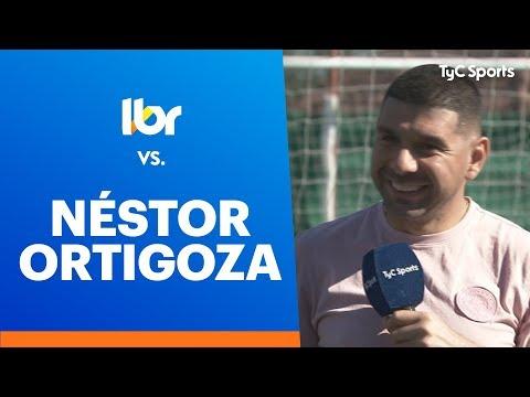 Lbero vs Nstor Ortigoza - COMPLETO