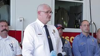 Firefighters recount Devon rescue