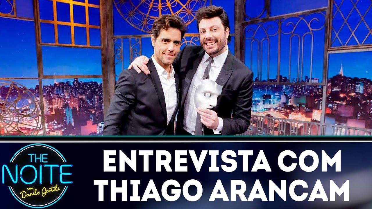 Entrevista com Thiago Arancam | The Noite (02/11/18)