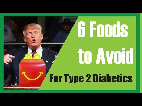 6 Foods to Avoid for Type 2 Diabetics
