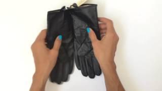 Обзор кожаных перчаток w004