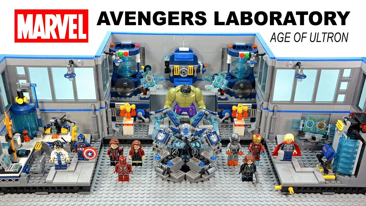Marvel S Avengers Science Laboratory Age Of Ultron